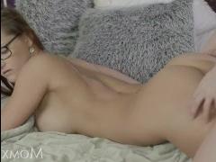 Рыжая в сперме после секса с партнером